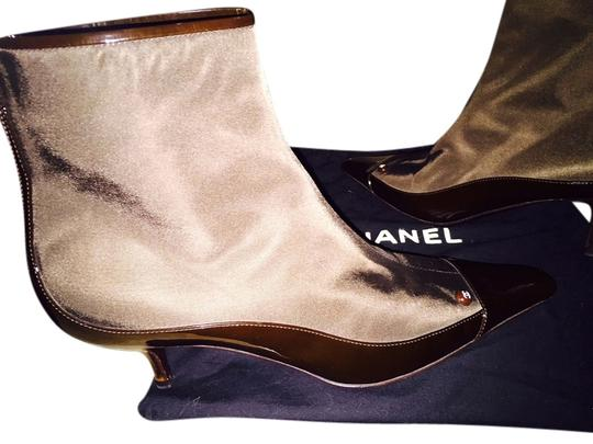 Chanel No Tags BROWN Boots