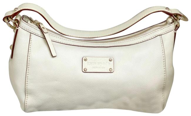 Item - Ivory Leather Hobo Bag