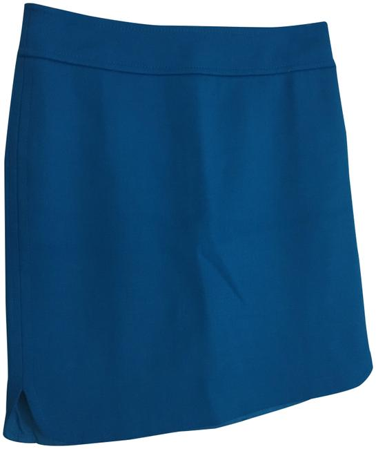 Item - Blue Pencil Skirt Size 2 (XS, 26)