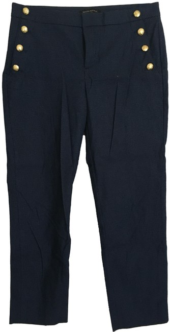Banana Republic Navy Avery Pants Size 4 (S, 27) Banana Republic Navy Avery Pants Size 4 (S, 27) Image 1