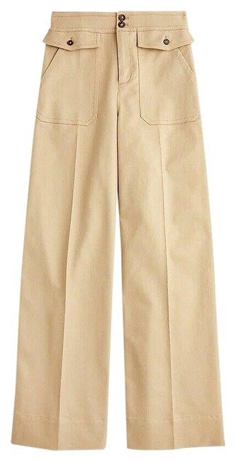 Item - Khaki Officer Patch-pocket In Stretch Twill Pants Size 4 (S, 27)