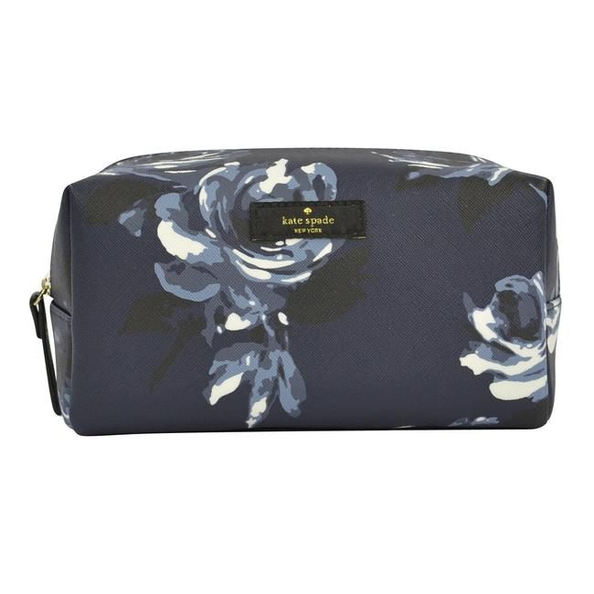 Item - Navy Rose Davie Travel Pouch Night Cosmetic Bag