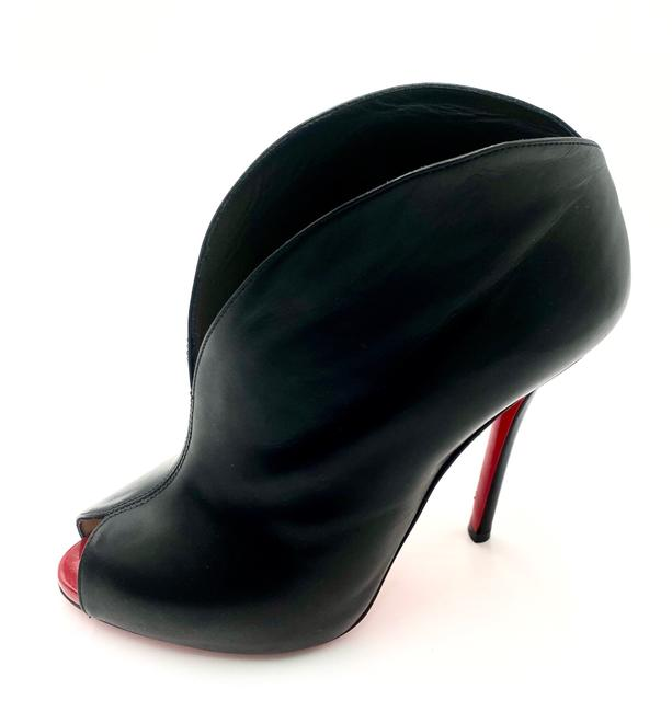 Christian Louboutin Black Ankle Boots/Booties Size EU 38.5 (Approx. US 8.5) Regular (M, B) Christian Louboutin Black Ankle Boots/Booties Size EU 38.5 (Approx. US 8.5) Regular (M, B) Image 1
