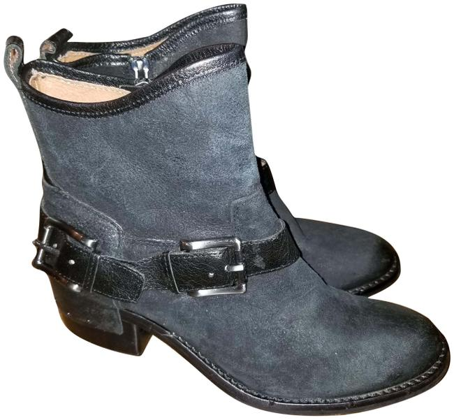 Item - Black New Wade Buckle Studded Boots/Booties Size US 6 Narrow (Aa, N)