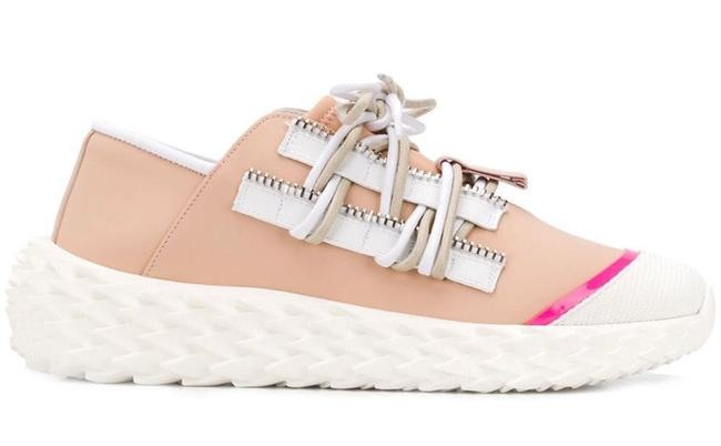 Item - Nude New Urchin Leather Chunky Sole Sneakers Size EU 38 (Approx. US 8) Regular (M, B)
