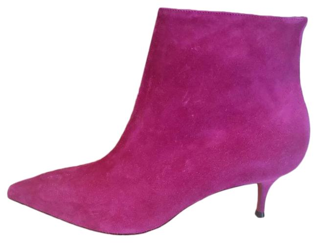 Item - Pink So Kate 55 Suede Ankle Kitten Heel Boots/Booties Size EU 37.5 (Approx. US 7.5) Regular (M, B)