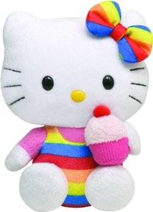 Other Ty Beanie Baby Hello Kitty - Cupcake