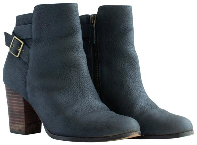 Item - India Ink (Blue) Cassidy Buckle Detail Boots/Booties Size US 5 Regular (M, B)