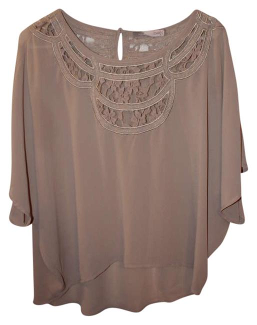 Preload https://item5.tradesy.com/images/forever-21-paletan-lace-embroidered-nude-flowy-blouse-size-8-m-280304-0-0.jpg?width=400&height=650