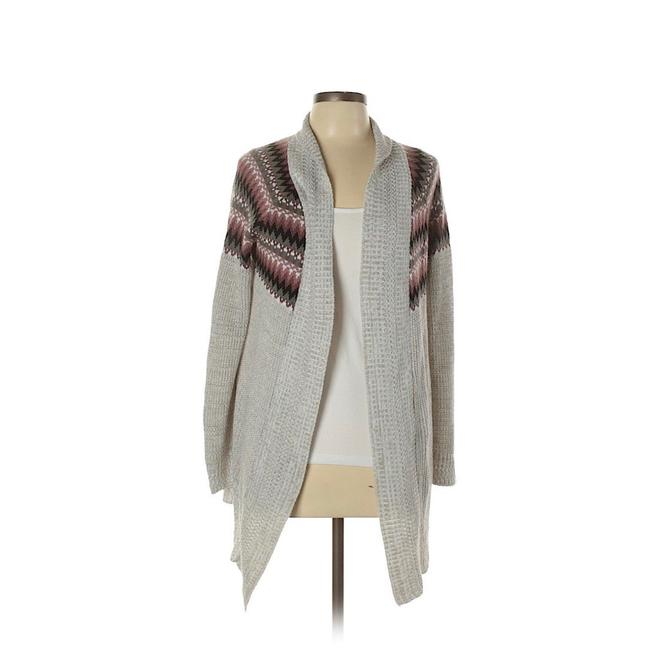 Item - Knit Cardigan Gray Sweater