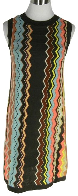 Item - Multi-color For Target Zig Short Night Out Dress Size 12 (L)