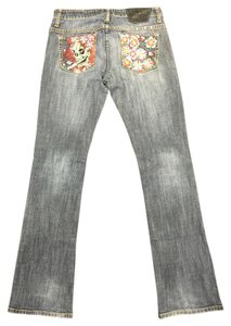 Ed Hardy Straight Leg Jeans-Medium Wash