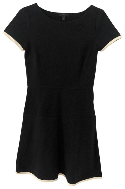 Item - Navy/White Mid-length Short Casual Dress Size 0 (XS)
