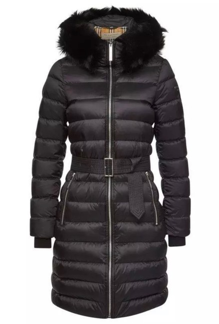 Item - Black L New Current Limehouse Detach Shearling Down-filled Puffer Coat Size 12 (L)