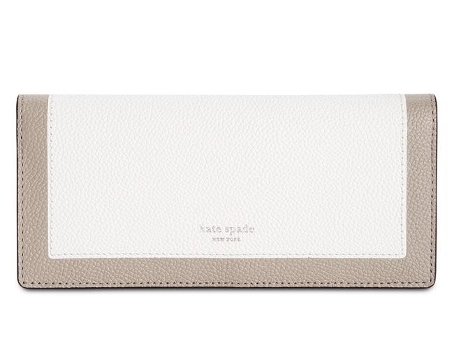 Item - Optic White Multi Cherrywood Margaux Bifold Continental Wallet