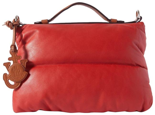Item - Genius + 1 Jw Anderson Quilted Padded Shell and Tote Burgundy Leather Shoulder Bag