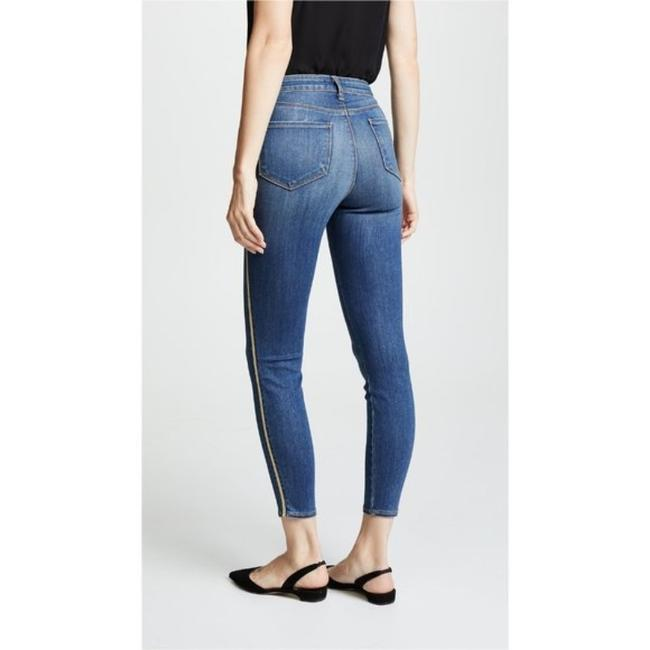 L'AGENCE Blue Gold Medium Wash High Rise Skinny Capri/Cropped Jeans Size 28 (4, S) L'AGENCE Blue Gold Medium Wash High Rise Skinny Capri/Cropped Jeans Size 28 (4, S) Image 3