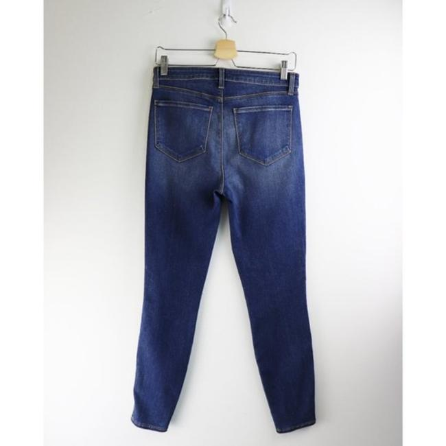 L'AGENCE Blue Gold Medium Wash High Rise Skinny Capri/Cropped Jeans Size 28 (4, S) L'AGENCE Blue Gold Medium Wash High Rise Skinny Capri/Cropped Jeans Size 28 (4, S) Image 7