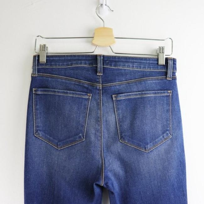 L'AGENCE Blue Gold Medium Wash High Rise Skinny Capri/Cropped Jeans Size 28 (4, S) L'AGENCE Blue Gold Medium Wash High Rise Skinny Capri/Cropped Jeans Size 28 (4, S) Image 8