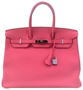 Hermès Satchel in pink