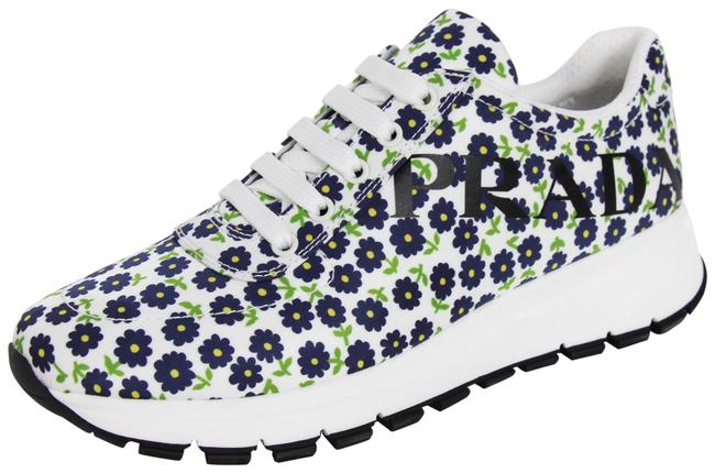 Item - Multicolor New Women's Nylon St. Primula Floral Sneakers Size EU 37.5 (Approx. US 7.5) Regular (M, B)