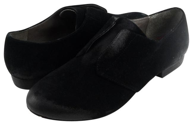 Item - Black Maggie Oiled Suede Lace Less Loafers Flats Size EU 37 (Approx. US 7) Regular (M, B)