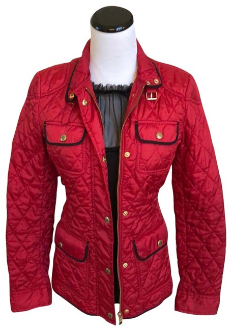 Item - Red Nwot Light Puffer Coat Size 0 (XS)