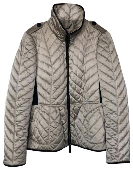 Item - Light Grey Quilted Coat Size 16 (XL, Plus 0x)
