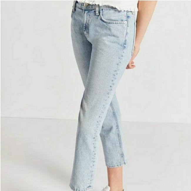 Item - Blue Light Wash Current/Elliot Boyfriend Straight Leg Jeans Size 27 (4, S)