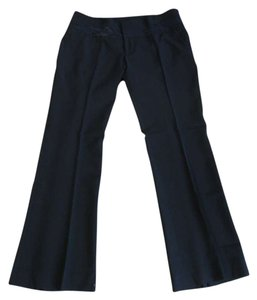 bebe Boot Cut Pants Black