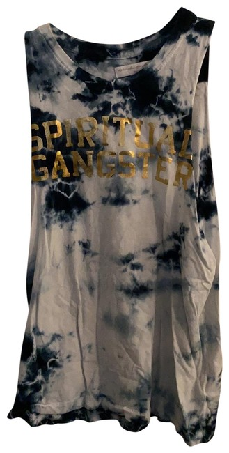 Item - White Blue Gold Tank Top/Cami Size 4 (S)