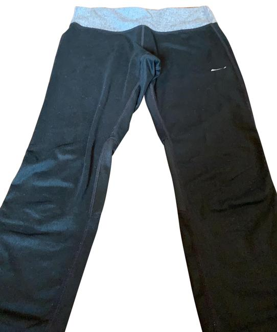 Item - Black and Gray Activewear Bottoms Size 6 (S)