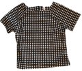 Jules & Leopold Black and White Checkered Tunic Size 16 (XL, Plus 0x) Jules & Leopold Black and White Checkered Tunic Size 16 (XL, Plus 0x) Image 1