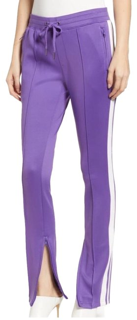 Item - Purple with White Stripe Track Pants Size 4 (S, 27)