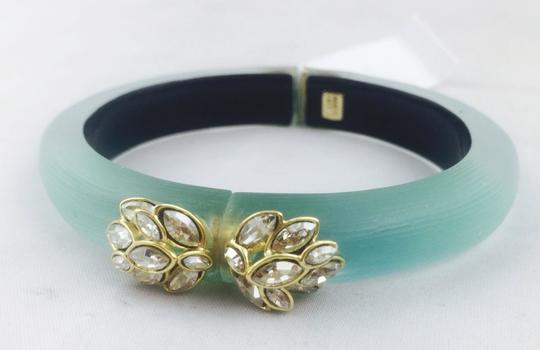 Alexis Bittar Alexis Bittar Turquoise Lucite And Crystal Bracelet New