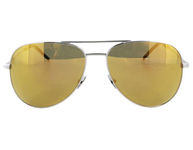 Item - Yellow / Silver Yves Classic 11 006 Aviator Sunglasses