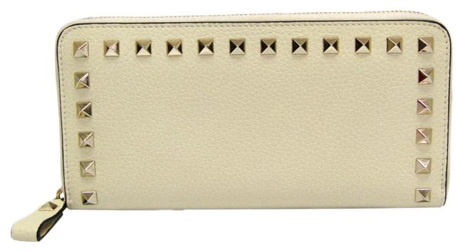 Item - Ivory Long Rock Studs Nw2p0645vsh Women's Leather (Bi-fold) Wallet