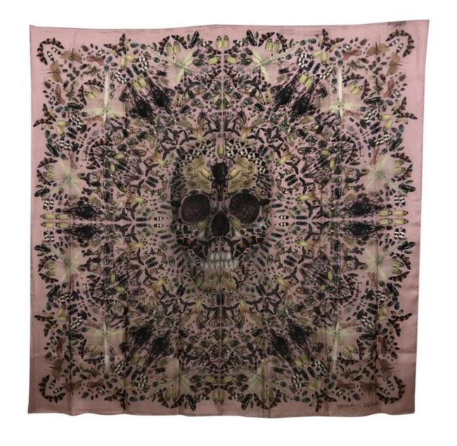 Item - Pink And Damien Hirst Limited Edition Silk Judecca Scarf/Wrap