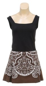 Elie Tahari Mini Skirt Brown