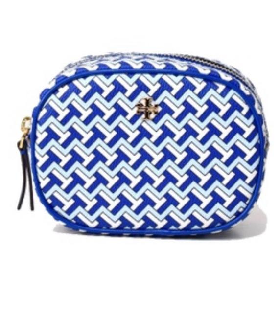 Item - Jewel Blue Pouch T-zag Cosmetic Bag