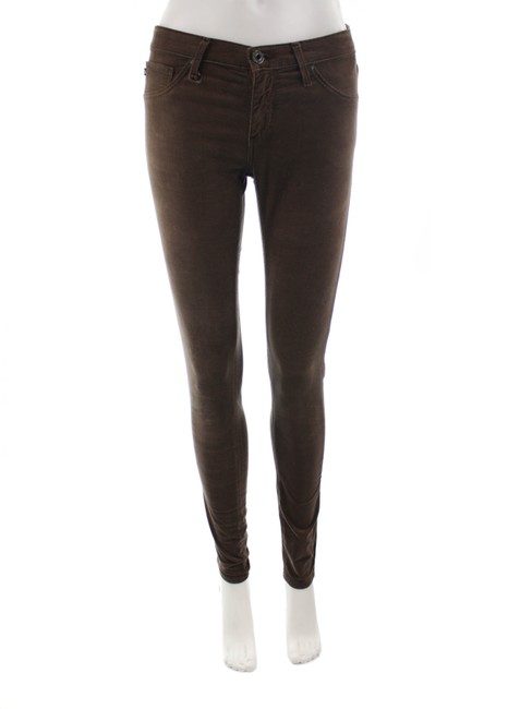 Item - Brown The Legging Corduroy Super S Pants Size 4 (S, 27)