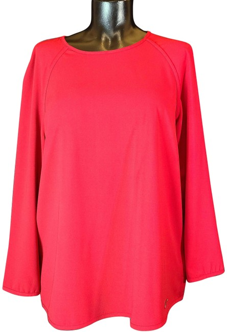Item - Red Mk Blouse Size 8 (M)