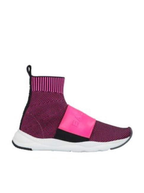 Item - Pink Logo Pull On Sock Sneakers Size EU 36 (Approx. US 6) Regular (M, B)