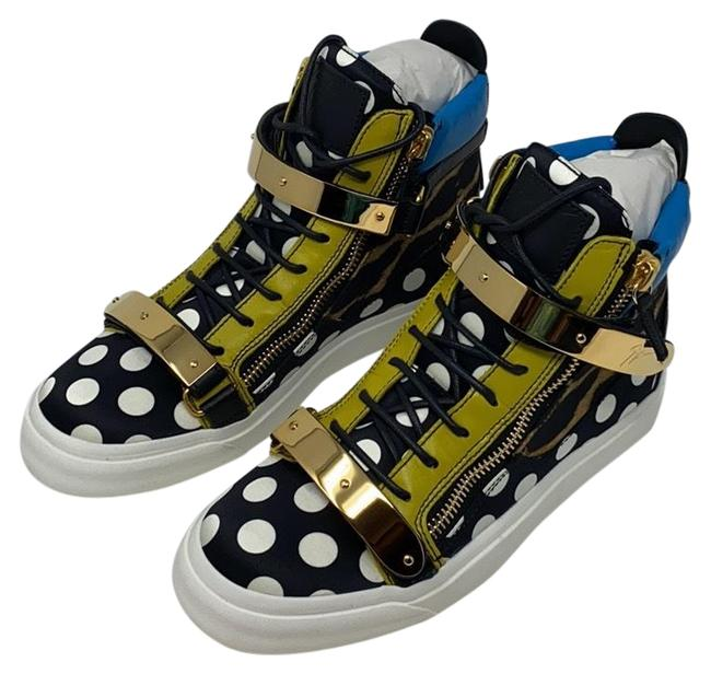Item - Multi Blue Blue Yellow White Brown White New London Tr Donna Setapois Sneakers Size EU 39.5 (Approx. US 9.5) Regular (M, B)