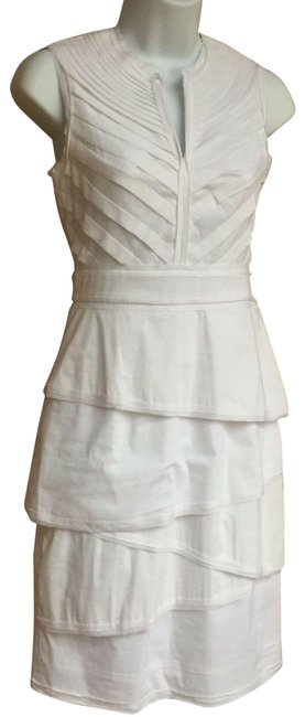 Item - White Mid-length Night Out Dress Size 0 (XS)