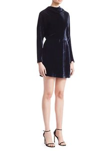 Item - Navy Marin Velvet  Cocktail Dress