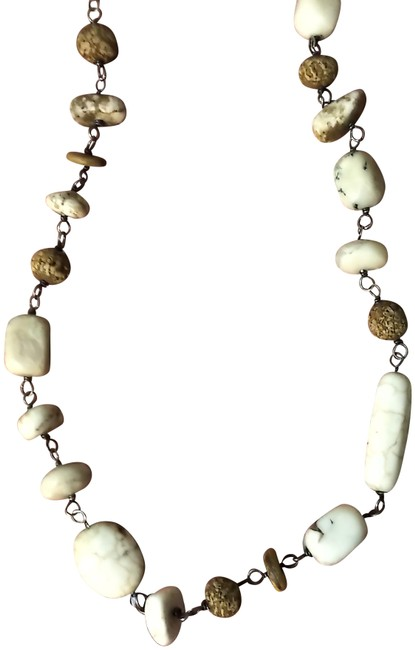Item - Multicolor White Howlite N1692 Necklace