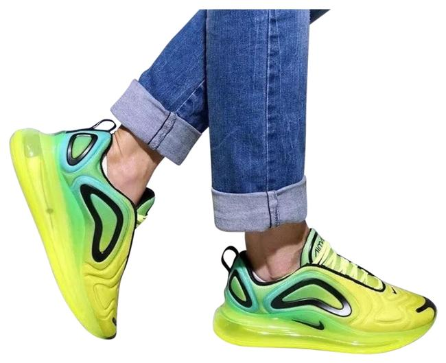 Item - Yellow Women's Air Max 720 Volt Glow Offers More Air Underfoot For Unimaginable All-day Comfort. Style/Color: Sneakers Size US 10 Narrow (Aa, N)