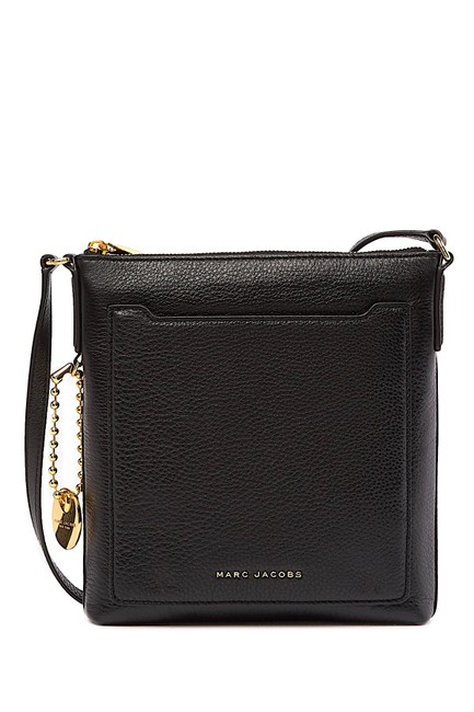 Marc Jacobs Tourist Black with Tag Leather Cross Body Bag Marc Jacobs Tourist Black with Tag Leather Cross Body Bag Image 1