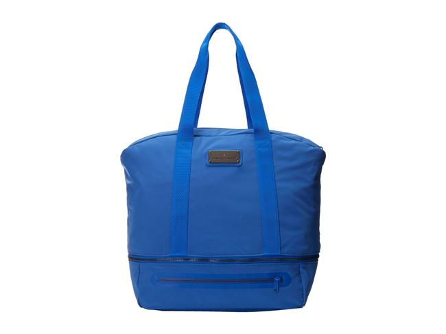 Item - Iconic Gym Blue Polyester Weekend/Travel Bag